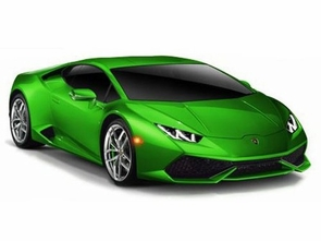 diecast lamborghini huracan lp610 4 in lambo green. Black Bedroom Furniture Sets. Home Design Ideas