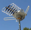 Digital HDTV Amplified Outdoor TV Antenna UHF VHF FM Rotor