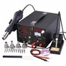 Digital Hot Air/Iron/Power Supply Solder Station Welder Tool