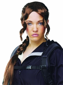 District Girl Wig Costume