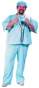 Doctor Doctor Plus Size Costume