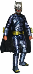 Doj Batman Armored Child Large Costume