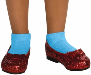 Dorothy Sequin Shoes Child Sm Costume