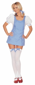 Women's Sexy Dorothy Costume - Wizard Of Oz Costume