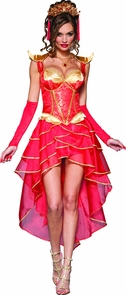 Dragon Lady Xsmall 0-2 Costume