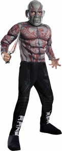 Drax The Destroyer Child Med Costume