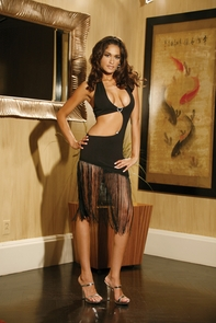 Dress Halter With Fringe Costume