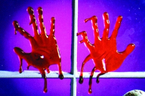 Drips Of Blood Hand Style Costume