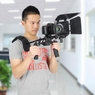 DSLR Camera Rig w/ Follow Focus Matte Box Shoulder Mount