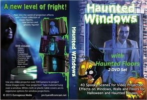 Dvd Combo Haunted Window Floor Costume