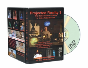 Dvd Home Haunters Projector Real 3 Costume