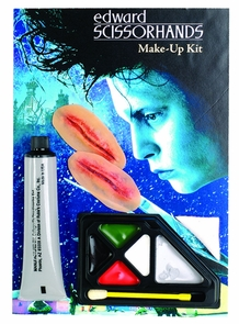 Edward Scissorhands Makeup Kit Costume