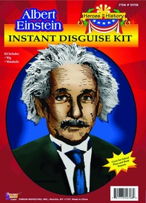 Einstein Heroes In History Costume