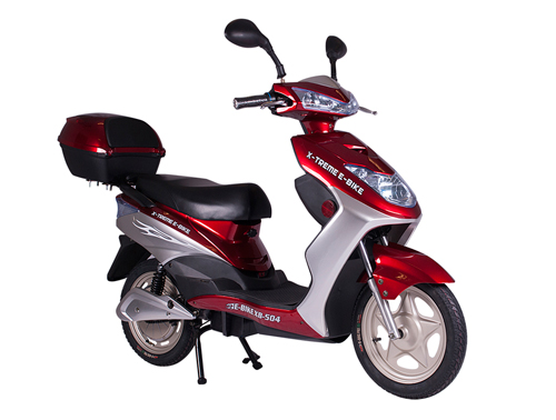Sit Down Scooter >> Go Green With Sit Down Electric Motorized Motorcycle Moped Bicycle