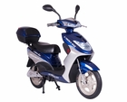 GO GREEN With Sit Down Electric Motorized Motorcycle Moped Bicycle Scooter W/Brushless Motor - FULLY REGISTERABLE IN ALL 50 STATES!