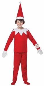 Elf On The Shelf 7-10 Costume