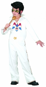 Elvis Child Wht Jumpsuit Sm Costume