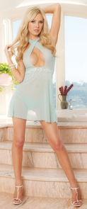 Embroidered Babydoll Small Costume