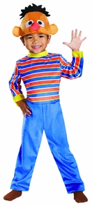 Ernie Deluxe Toddler 3t-4t Costume