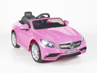 Pink Princess Magic Cars® Mercedes Ride On Remote Control Car