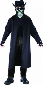 Evil Outlaw Child Large No Hat Costume