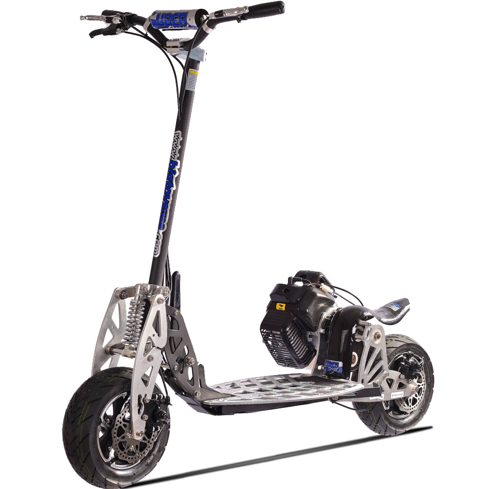 Fast Gas Powered 50cc Motorized Scooter Foldable And Fun