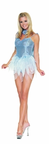 Fairy Blue Glitter Large Costume