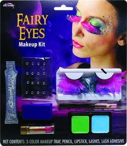 Fairy Eye Lashes Makeup Kit Costume