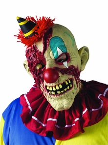 Fearsome Faces Mask Clown Costume