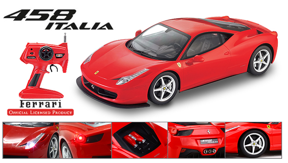 Big Ferrari Remote Control 458 Italia Rc Car Top Choice
