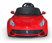 Magic Cars� Ride On Ferrari Car For Kids W/Magic Cars�  Parental Control  Battery Powered RC Car W/Keys Real Floor Mat