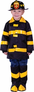 Fire Chief Toddler Large 3t-4t Costume