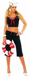 First Mate X-large Size 14-16 Costume