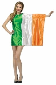 Flag Dress Ireland Costume