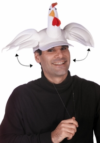 Flappy Cap - Chicken Costume