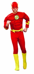 Flash Costume Muscle Large Costume