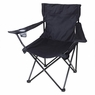 Folding Chair Outdoor Camping Seat w/ Beverage Holder