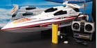 Fountain Style Remote Control Speedboat Racer Electric RC Boat