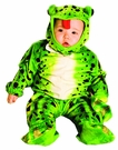 Frog Plush Green Toddler 2t 4t Costume