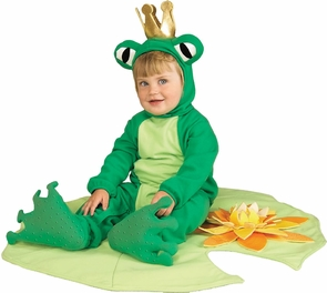 Frog Prince Lil Infant 6-12mos Costume
