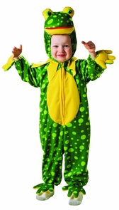 Frog Spotted Plush 1 To 2 Costume
