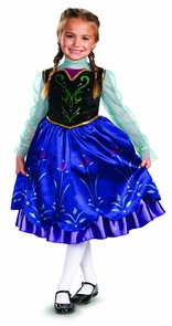 Frozen Anna Child 3t-4t Costume