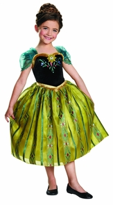 Frozen Anna Coronation 4-6 Costume