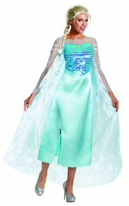 Frozen Elsa Adult Deluxe 8-10 Costume
