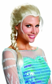 Frozen Elsa Adult Wig Costume