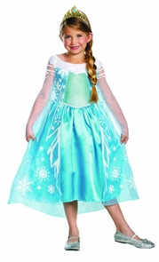 Frozen Elsa Child Deluxe 10-12 Costume