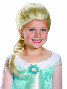 Frozen Elsa Wig Child Costume