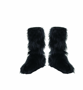 Furry Boot Covers Costume