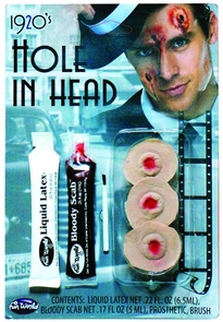 Fx Kit Hole In Head Costume