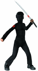 G.i. Joe Snake Eyes 4-6 Costume